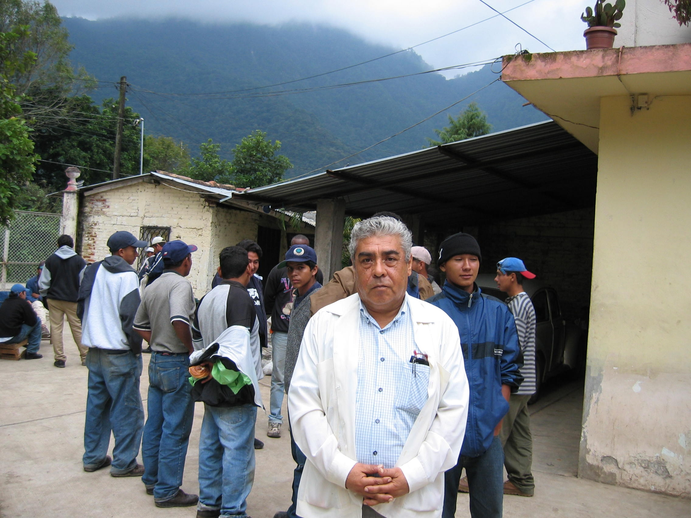 At the María Auxiliadora Church near Orizaba, Mexico, priest Salamón Lemus Lemus allows hundreds of migrants to sleep and eat inside the church. Over his lifetime, the priest saved $37,500 for his retirement. When he was 63 years old, he quietly donated the entire amount to buy land to build a migrant shelter.